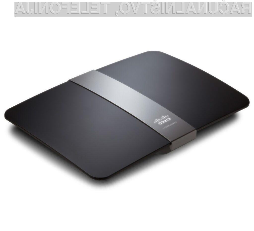 Do nadaljnjega se na mrežnih usmerjevalnikih priporoča izklop tehnologije Wi-Fi Protected Setup.