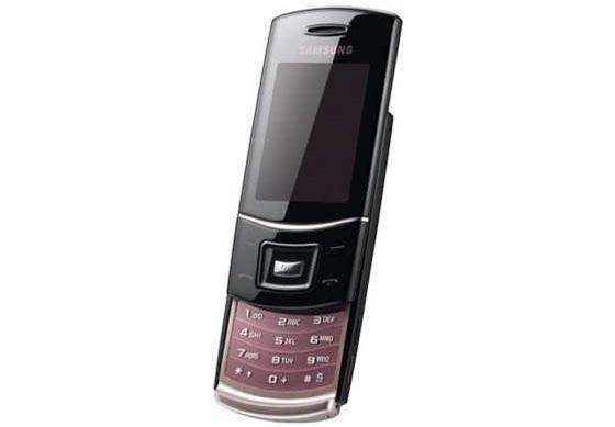 Samsung S5050, zlato-roza