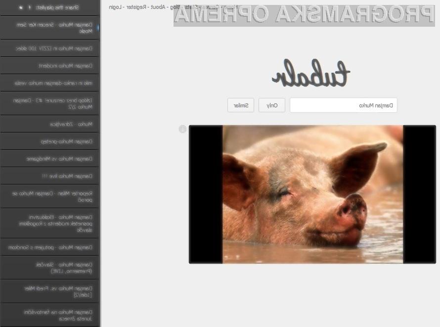 Je spletna aplikacija Tubalr izpolnila vaša pričakovanja?
