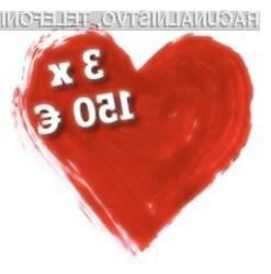 Čaka te presenečenje v vrednosti 150 EUR!