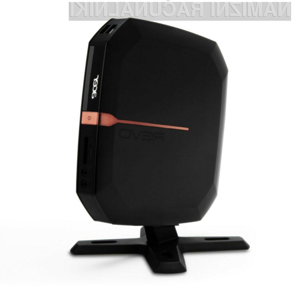 Nov Acerjev model Revo RL70 je tipičnih nettop dimenzij.