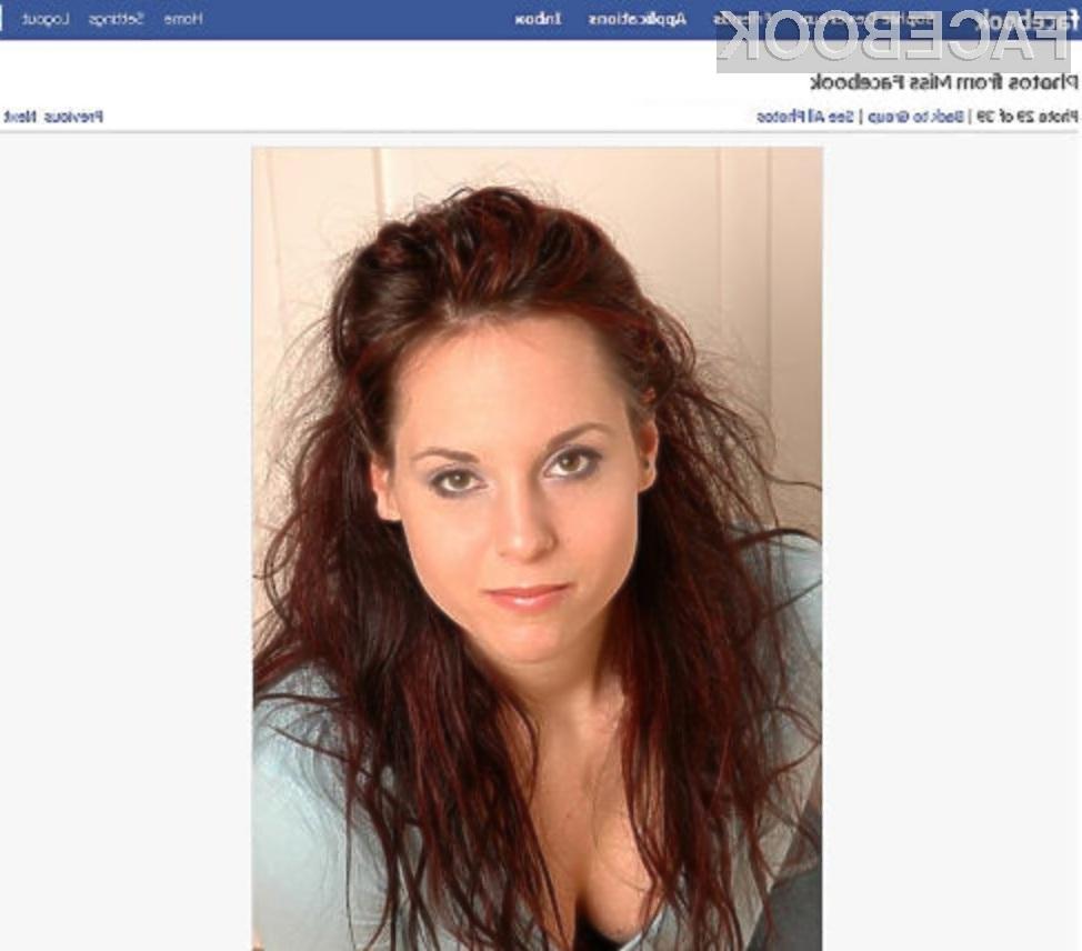 Ne nasedajte lepim obrazom na Facebooku.
