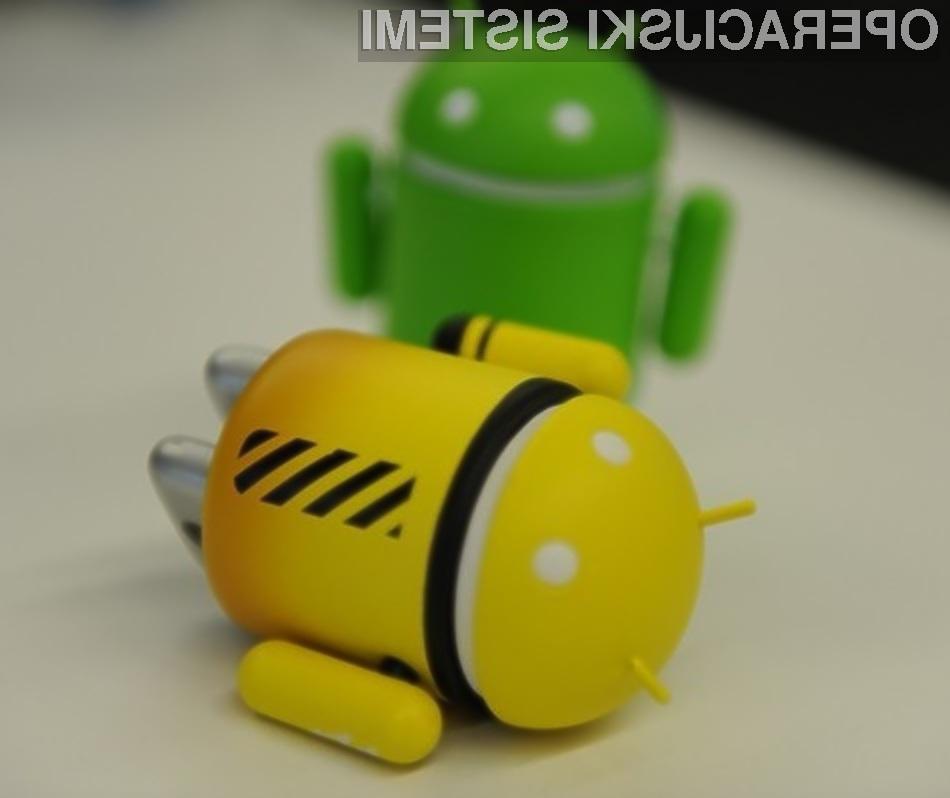 Uporabniki mobilnih naprav Android naj bi bili iz dneva v dan bolj varni pred škodljivimi programskimi kodami.