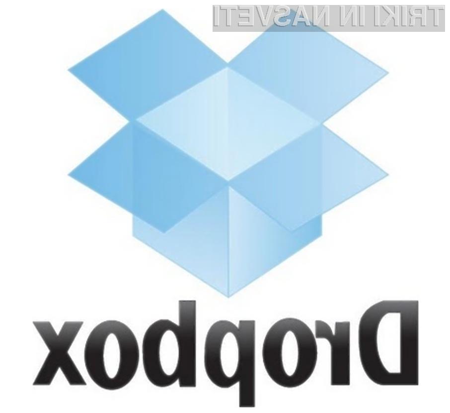 Na spletni storitvi Dropbox lahko brezplačno koristimo do 10 gigabajtov prostora!