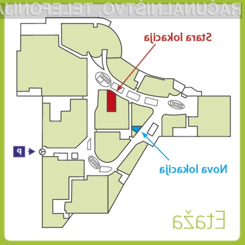 Comshop v Europarku Maribor od 17. 2. na novi lokaciji