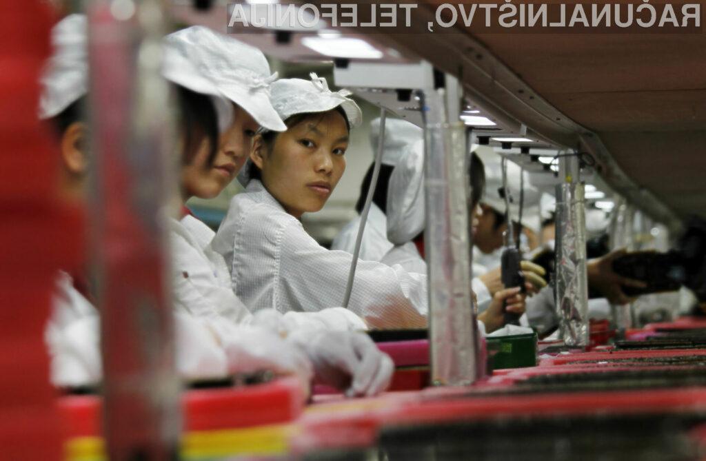Zahvaljujoč širjenju Foxconnovih proizvodnih kapacitet bo Apple lažje potešil veliko povpraševanje po njegovih izdelkih.