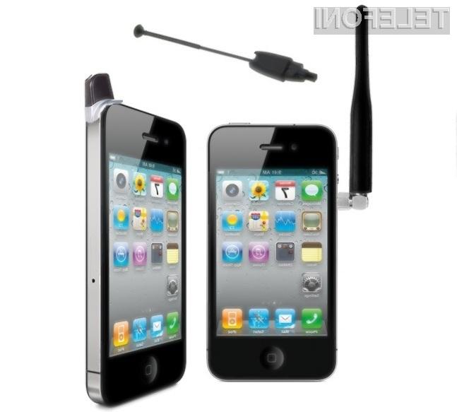 Ste kot uporabniki mobilnega telefona iPhone 4 kdaj imeli težave z »izgubo« omrežnega signala?