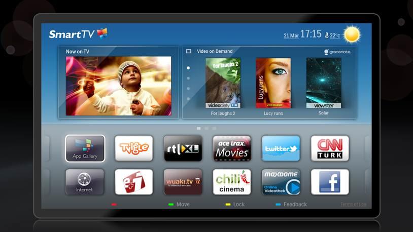 Nov Philipsov meni za Smart TV 1!