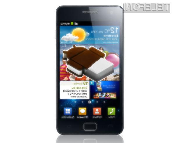 Android 4.0 Ice Cream Sandwich se več kot odlično prilega mobilnikoma Samsung Galaxy S2 in Galaxy Note.