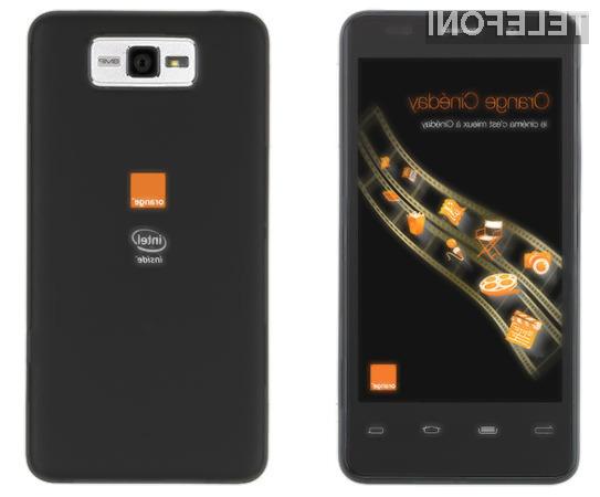 Bo podjetju Orange z Intelovo platformo Medfield uspel veliki met?