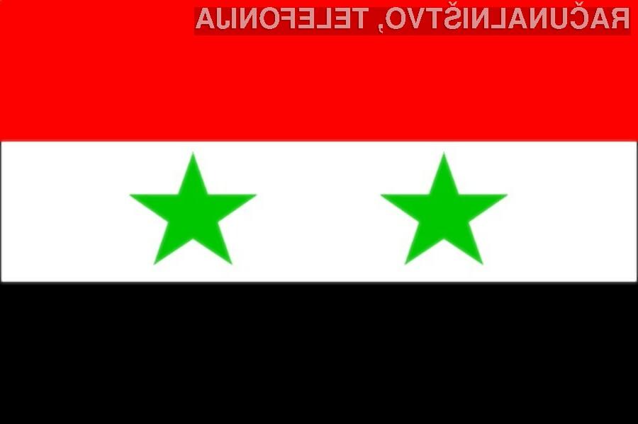 Sirija si je privoščila precejšen spodrsljaj.
