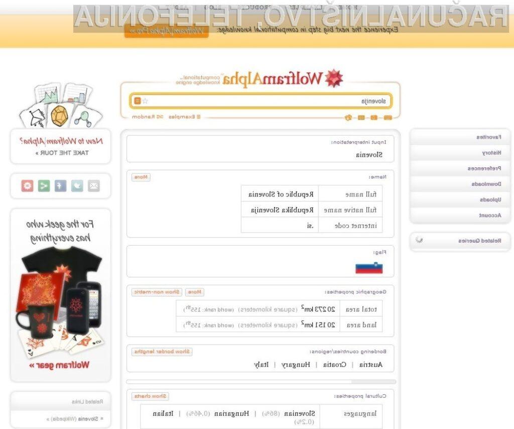 Wolfram Alpha Pro je iskalnik in pol!