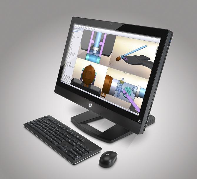 HP predstavil prvo 27-palčno integrirano delovno postajo