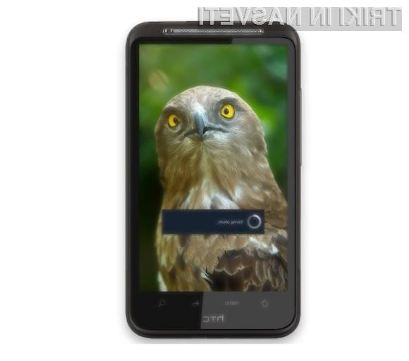 Z uporabo namenske aplikacije lahko z napravami Android zajemamo fotografije kot za stavo!