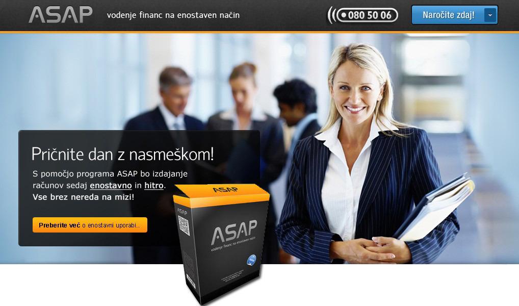 ASAP – vodenje financ na enostaven način