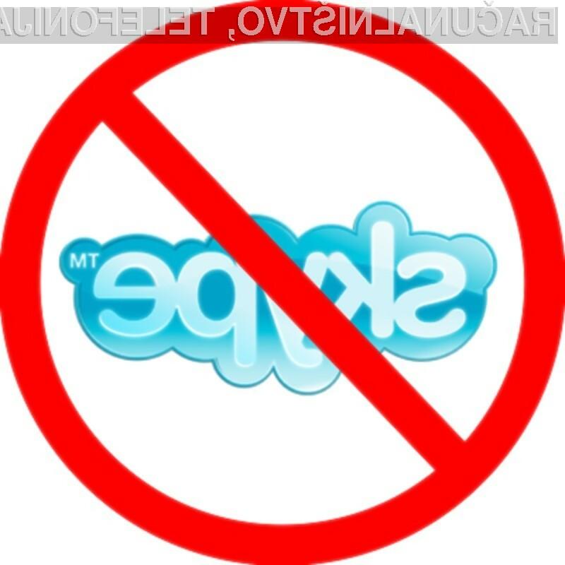 Z blokiranjem brezplačnih storitev VoIP bi seveda najkrajšo potegnili uporabniki!
