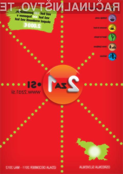 Knjiga kuponov 2za1.si (Osrednja Slovenija)
