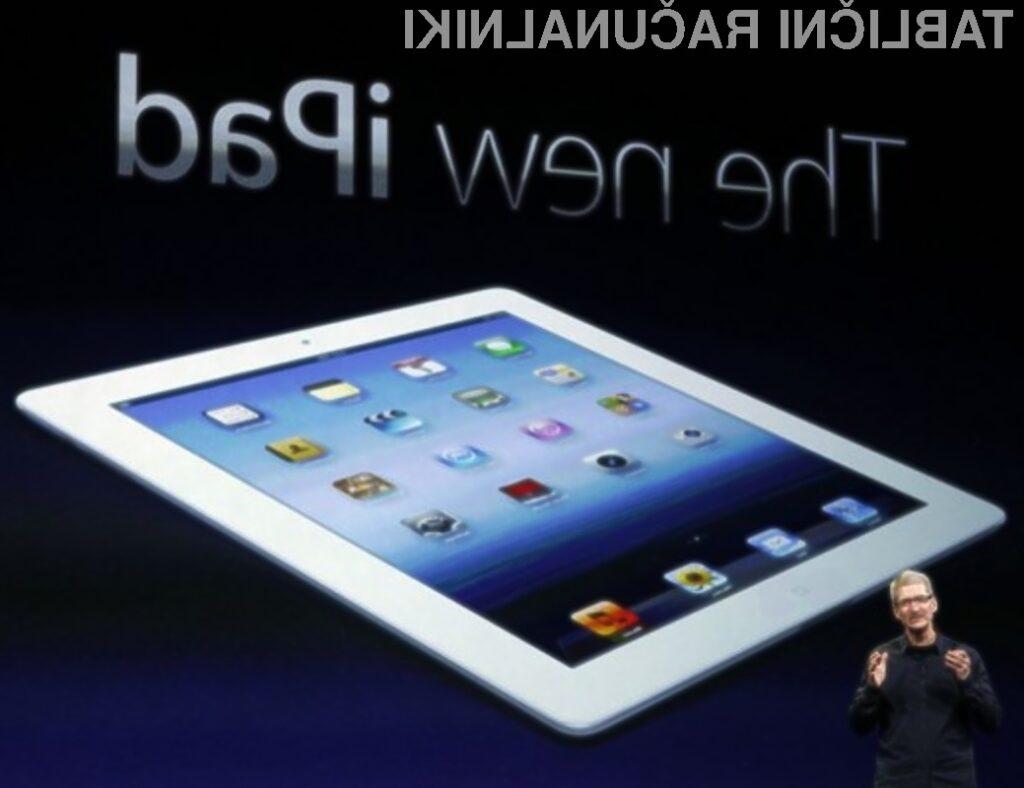 Štirijedrna grafična kartica, vgrajena v procesorju Apple A5X, je le za odtenek zmogljivejša od tiste, ki jo ima iPad 2.