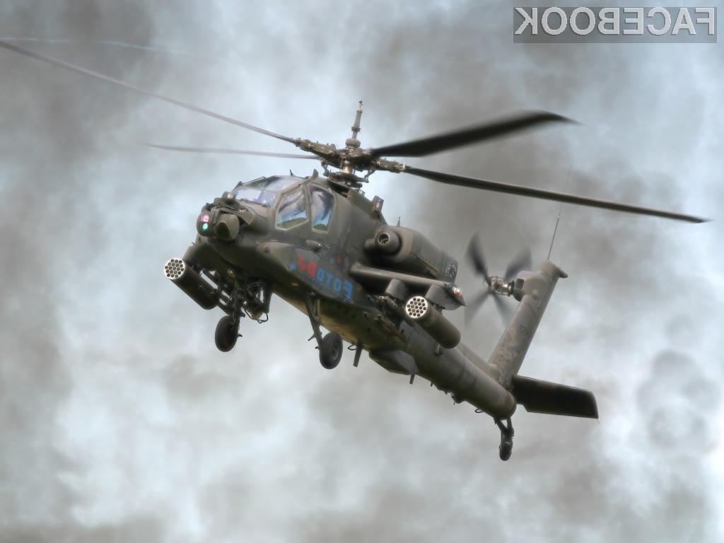 Slika z geolokacijskimi podatki je bila dovolj, da je ameriška vojska ostala brez štirih helikopterjev.