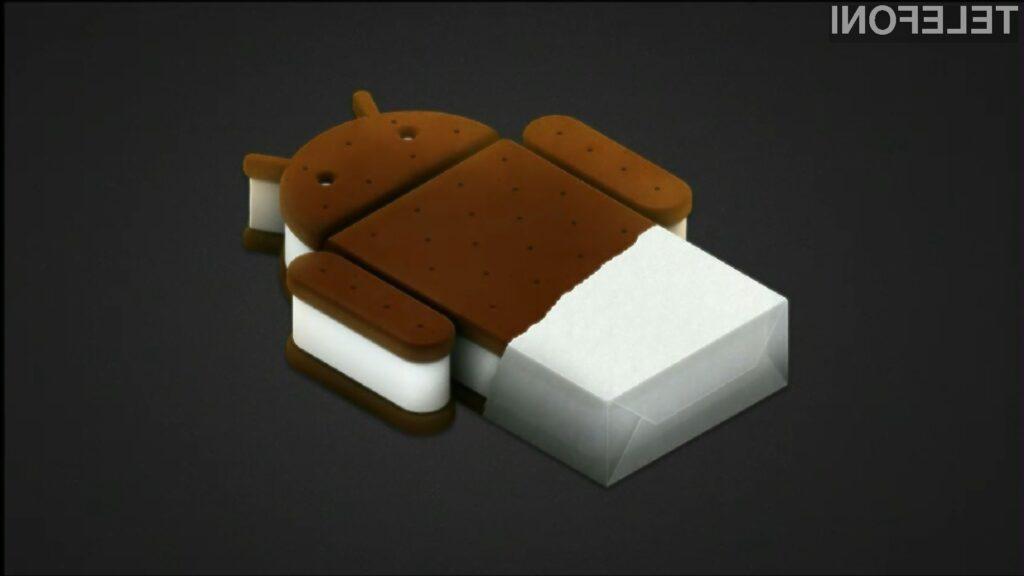Sladoledni sendvič bo masovno priromal na mobilnike HTC.