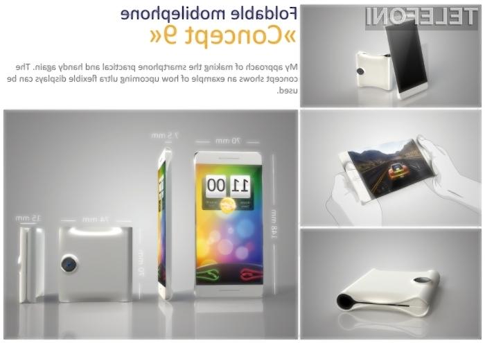 Bodo preklopni pametni telefoni že kmalu realnost?