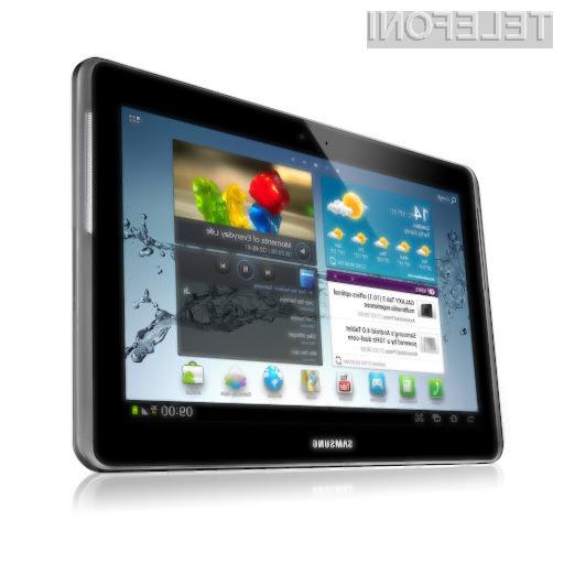 Galaxy Tab 2 10.1 sprednja stran