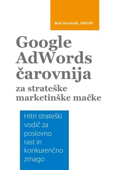 Google AdWords čarovnija za strateške marketinške mačke