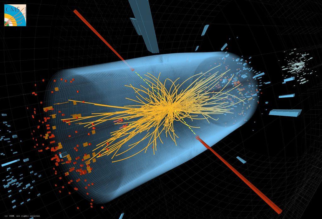 Higgsov bozon ali božji delec je domnevni osnovni delec, ki ga napoveduje standardni model fizike delcev.