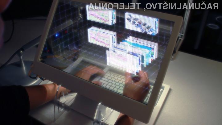 Bomo z zasloni kmalu komunicirali v treh dimenzijah?