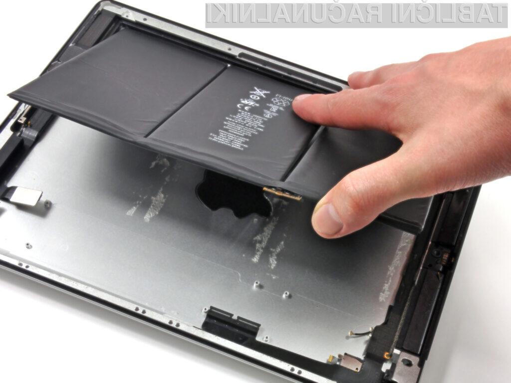 Nov iPad še iz notranjosti.
