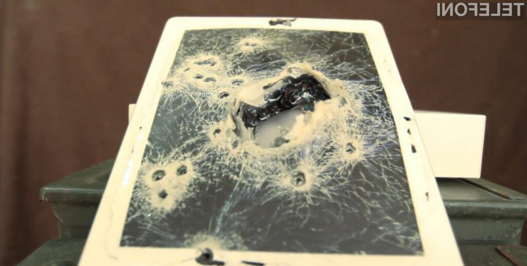 Hudo ranjen iPad.