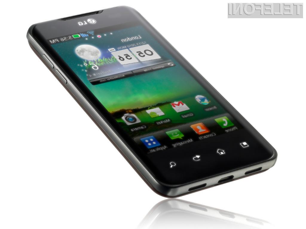 Ne preveč privlačen LG Optimus 4X HD v sebi skriva kar 5 procesorskih jeder.