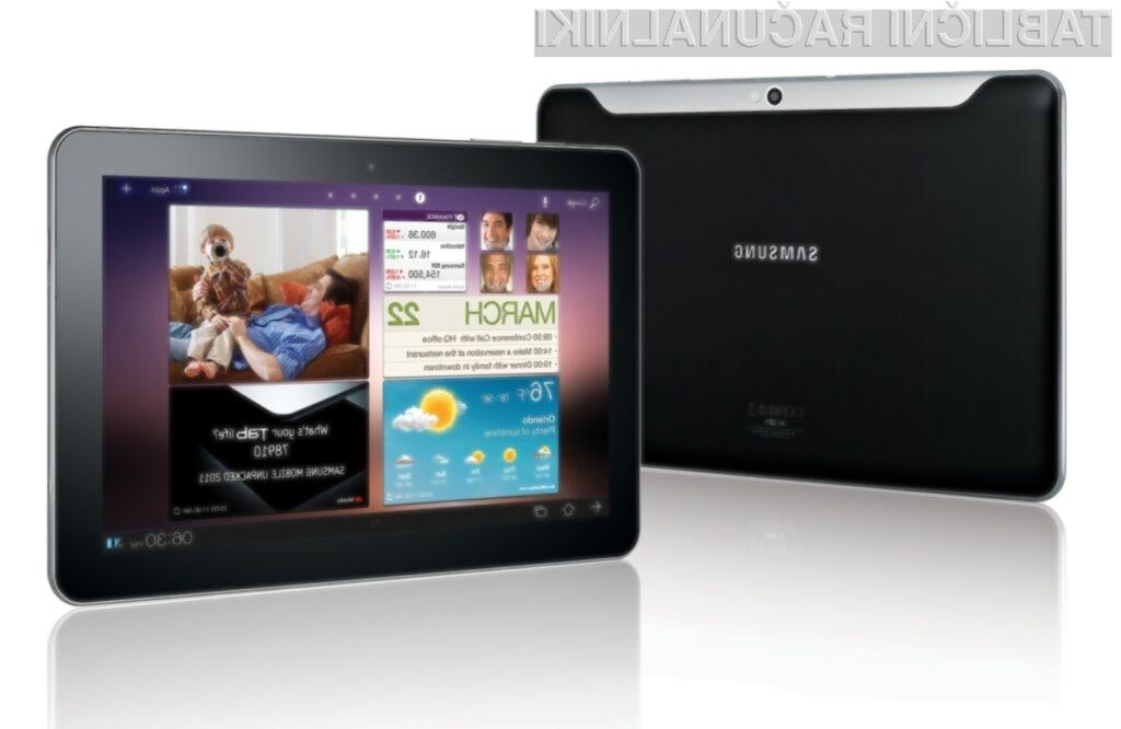 Samsungova linija Galaxy Tab je uspešna, a še vedno precej manj kot Applovi iPadi.