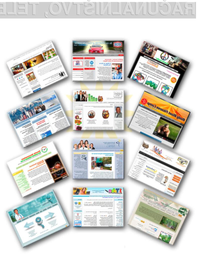 Zakaj bi plačevali za izdelavo spletne strani, ko pa jo lahko naredite kar sami!