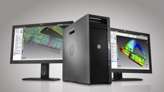 HP predstavil novo družino zmogljivih delovnih postaj