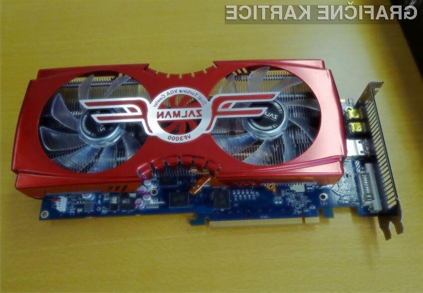 Temperatura GPU-ja bo tudi pri polnih obremenitvah ostala pri 20 stopinjah Celzija.