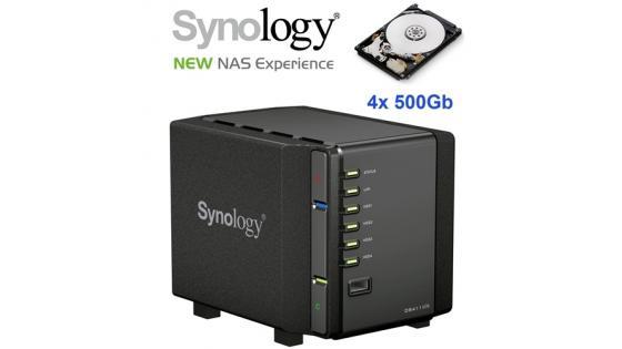 SYNOLOGY DS-411 slim z vgrajenimi 4x 2,5
