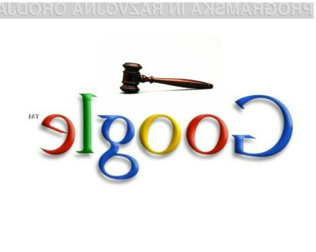 Google AdWords omogoča, da oglaševalci med ključnimi besedami navedejo tudi konkurenco.
