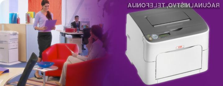 Barvni laserski tiskalnik OKI C110