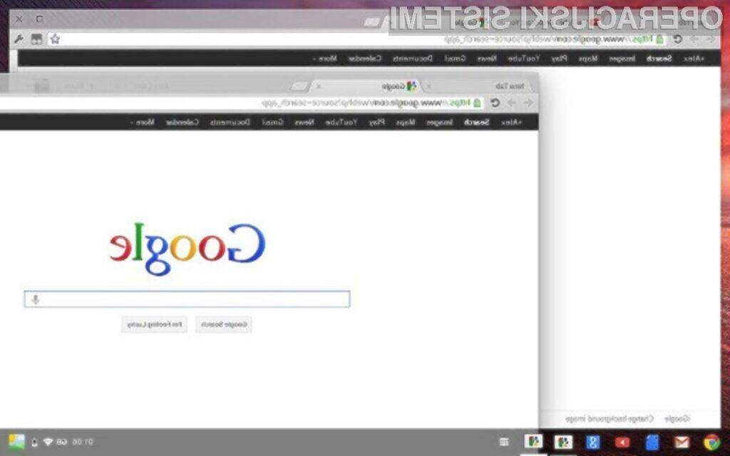 Prenovljena različica operacijskega sistema Chrome OS bo bogatejša za uporabniški vmesnik Aura.