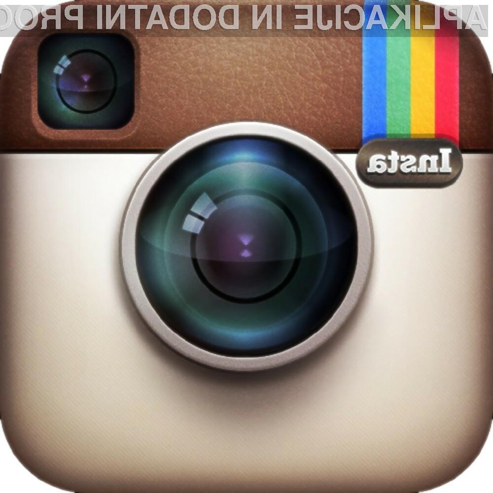 Instagram je do sedaj najhitreje rastoča mobilna storitev.