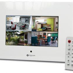 Oči in ušesa pametnih hiš IP CAMERA LCD