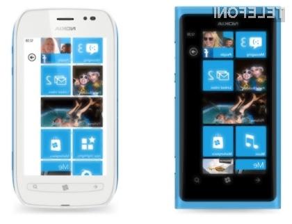 Levo Lumia 800, desno Lumia 710.