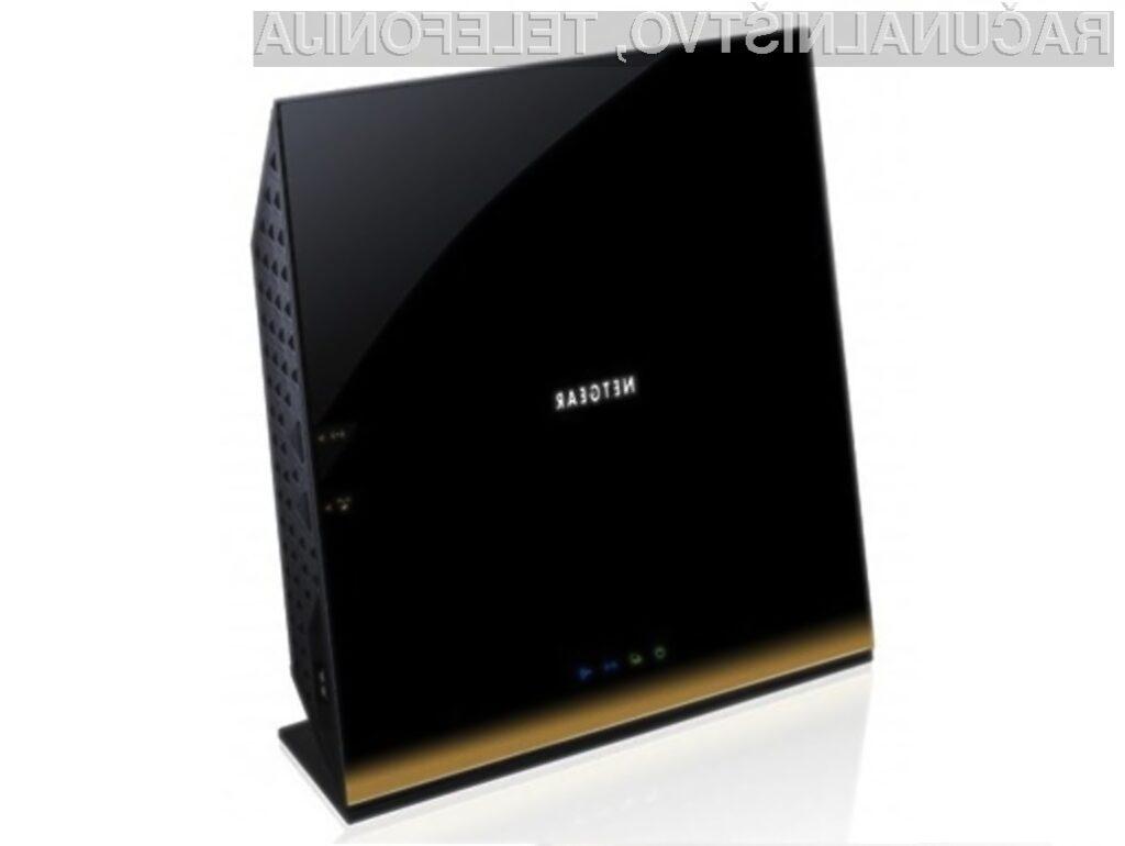 Usmerjevalnik Netgear R6300 lahko zagotovi teoretično hitrost prenosa do 1,3 gigabajta na sekundo.
