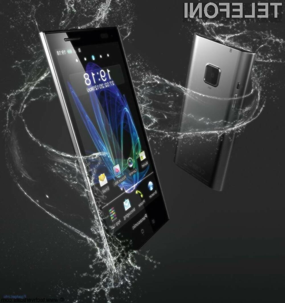 Panasonic Eluga Power ima kar 5-palčni (12,7-centimetrski) zaslon.