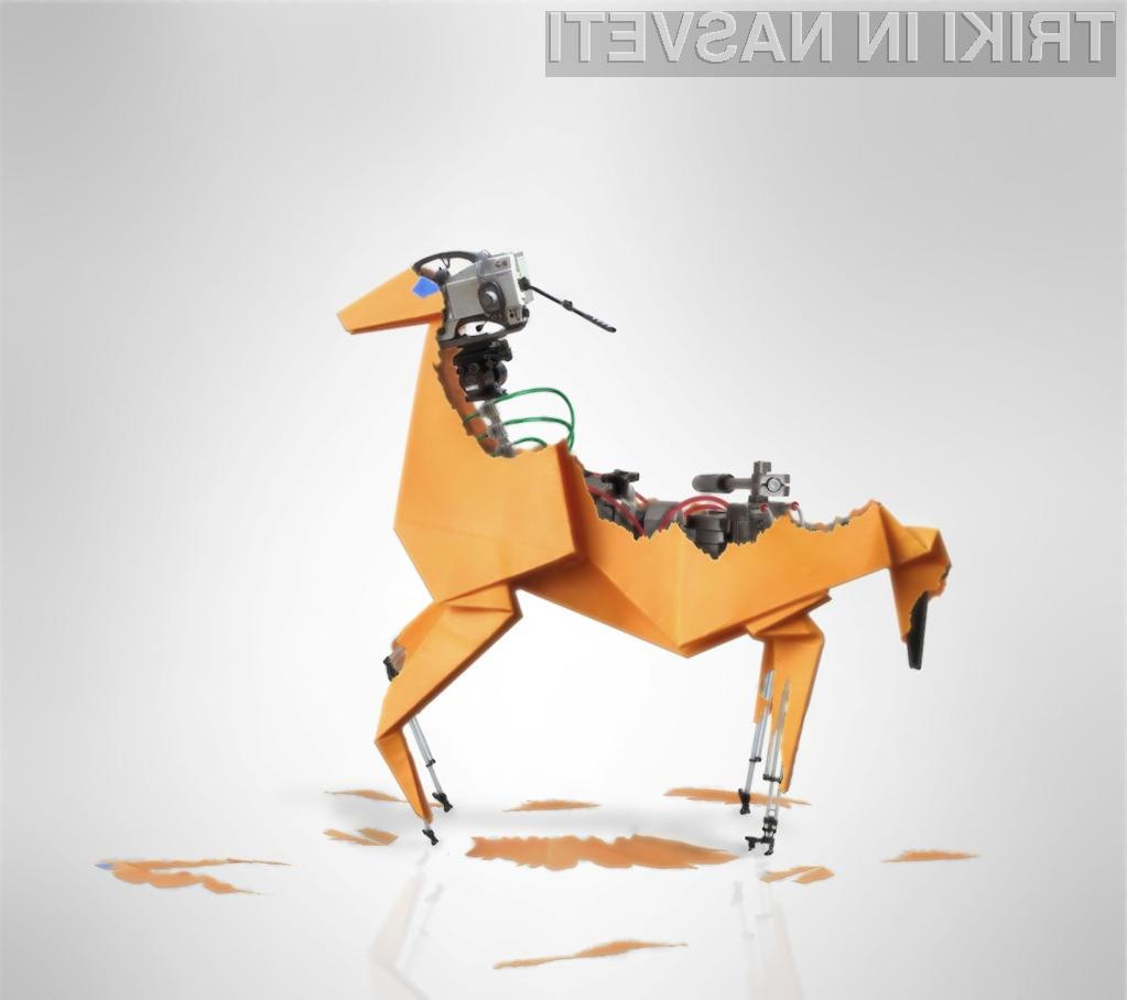 Bi si tudi vi radi izdelali lastnega robota?