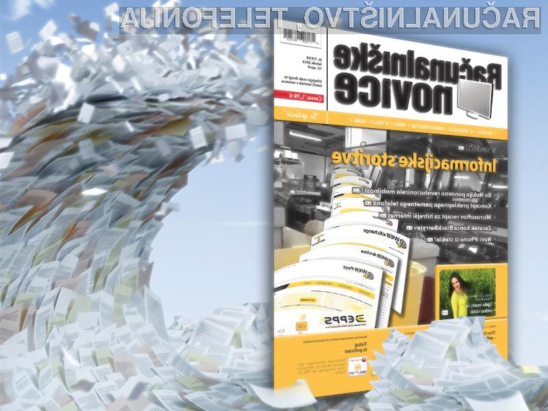 V središču nove številke revije Računalniške novice tokrat pišemo o o informacijskih storitvah.