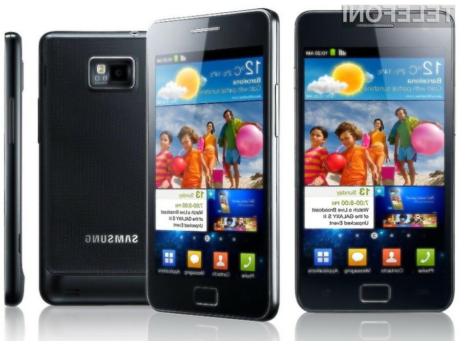 Galaxy S II je zlata jama za Samsung.