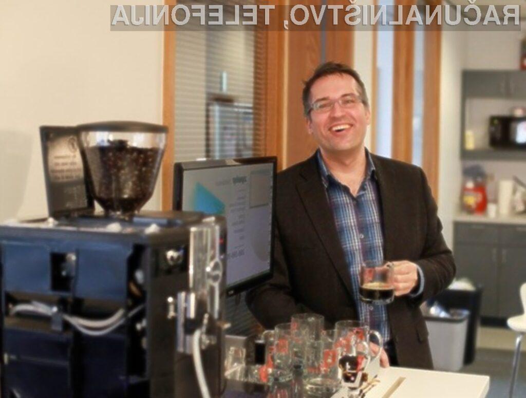 Avtomat za kavo TextSpresso bi se zagotovo prikupil marsikateremu računalničarju,