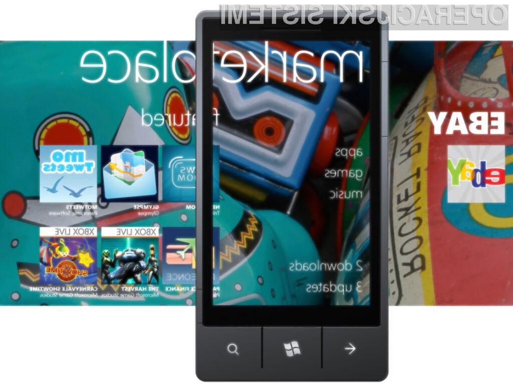Windows Phone Marketplace trenutno premore že 80.000 aplikacij.